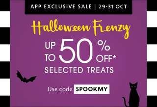 Sephora Halloween Frenzy Sale!