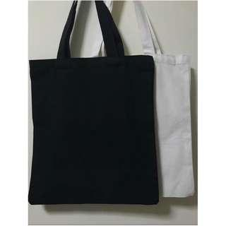 🚚 Canvas Plain Tote Bag good material