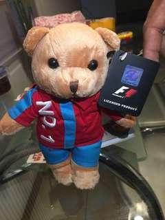 F1 2010 merchandise bear