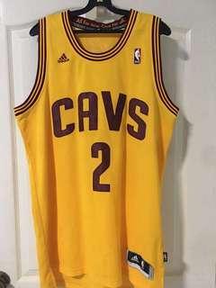 Used NBA Jersey Kyrie Irving 2 Cavaliers Adidas