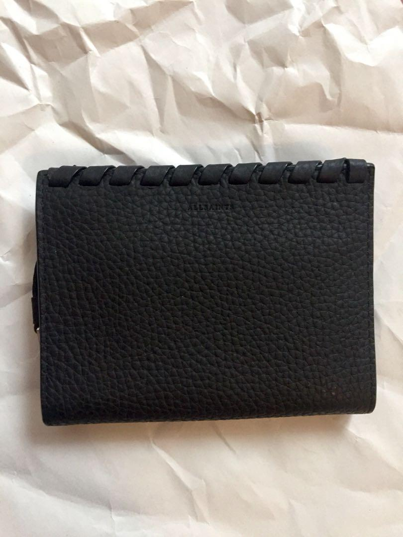 ALLSAINTS kita small pebble leather wallet