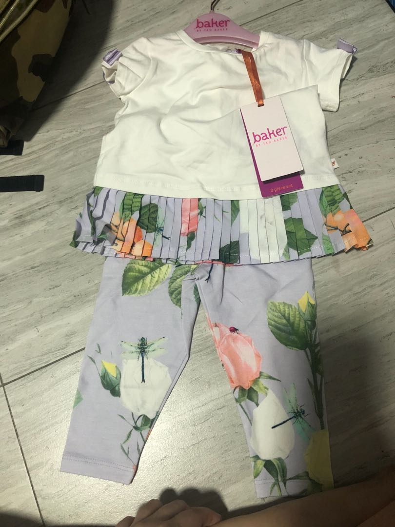 1ed6c98e0492fa Authentic Brand New ted baker girl set 6-9 months