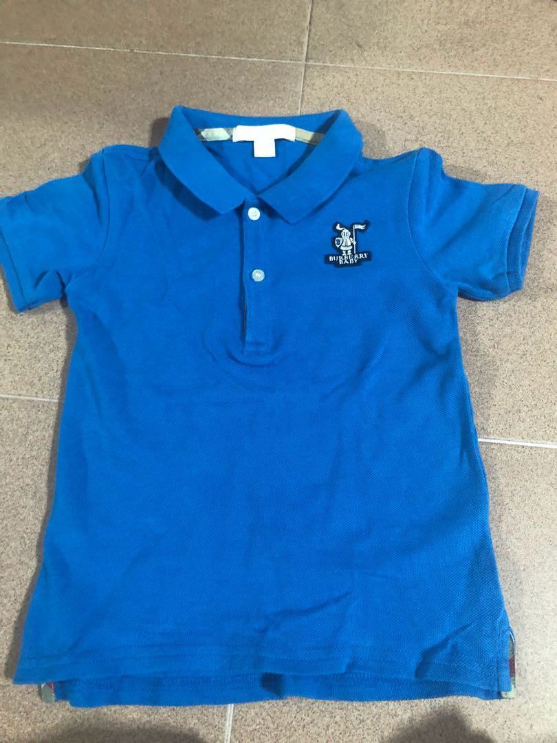 531f9ff3 Authentic Burberry Polo TOP size 3years, Babies & Kids, Boys ...