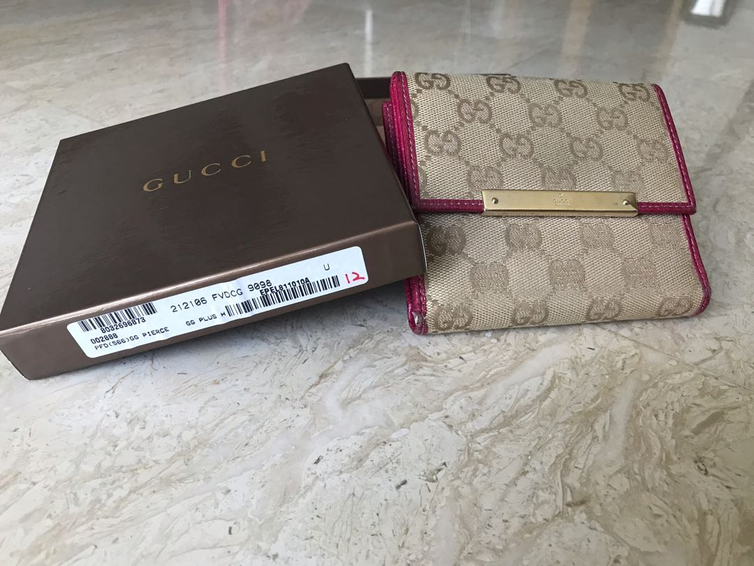2c516ea37 Authentic Gucci wallet, Luxury, Bags & Wallets, Wallets on Carousell