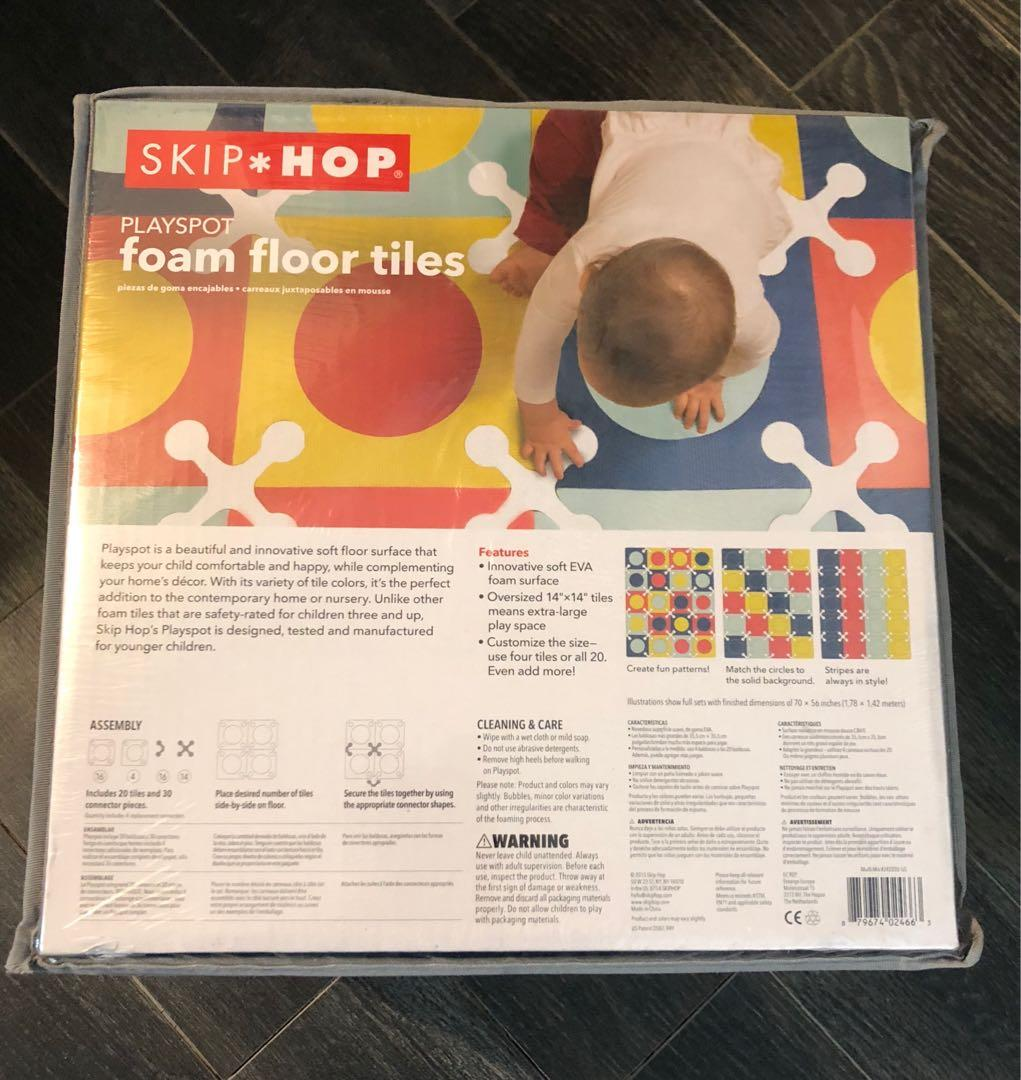 >>>Baby & Toddler Skip Hip Interlocking Play Mat Foam Tiles<<<