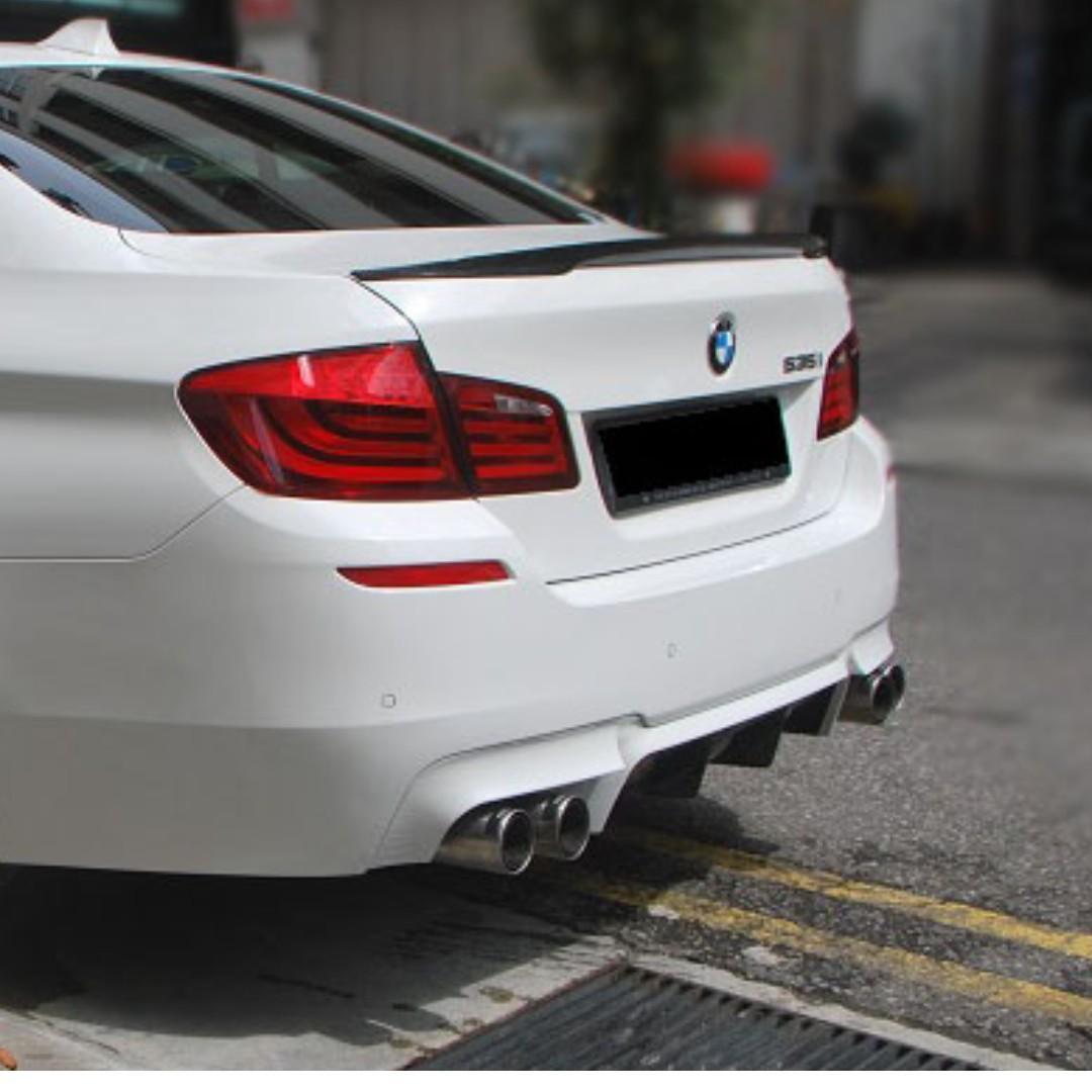 BMW F10 5 Series M-Performance Carbon Fibre Trunk Spoiler