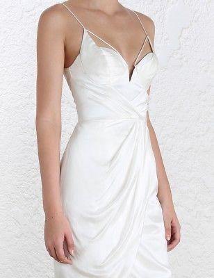 BNWT Zimmermann Pearl Silk Underwire Dress. Size 8-10 (1)