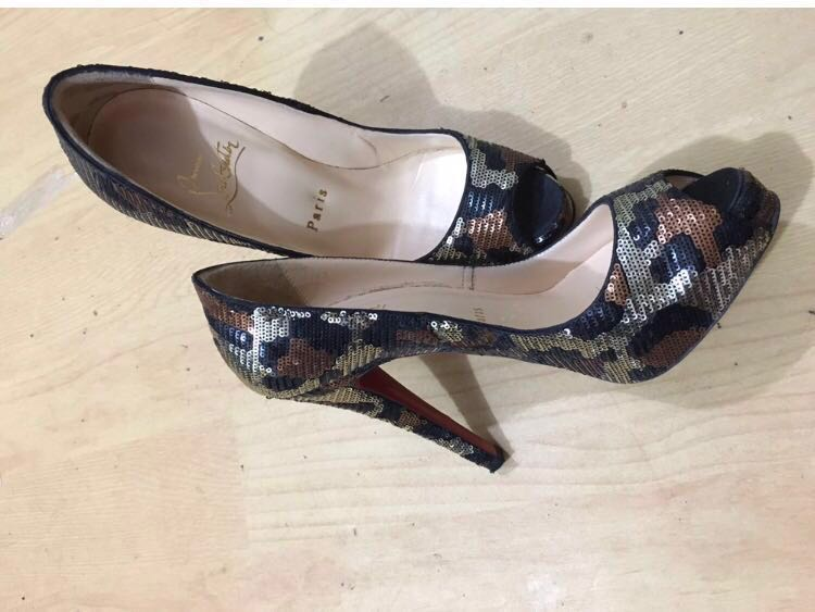1d5afba45ca3 Christian Louboutin sequence heels