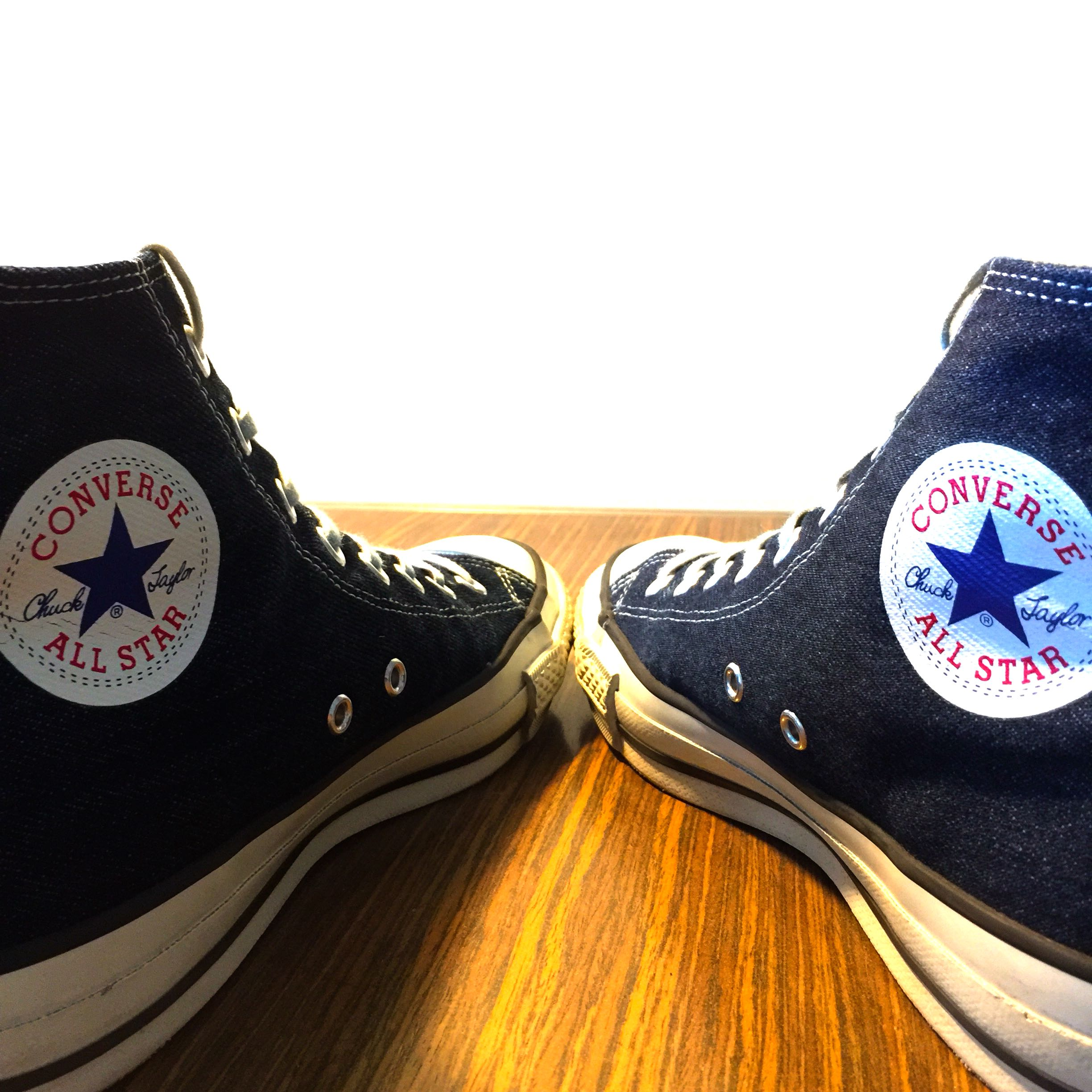 Converse Chuck Taylor All Star J Hi Okayama Denim 26cm Made in Japan ... 26d8ba49f5102