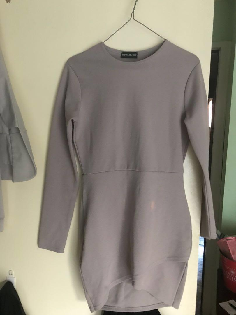 Dress soft purple pastel