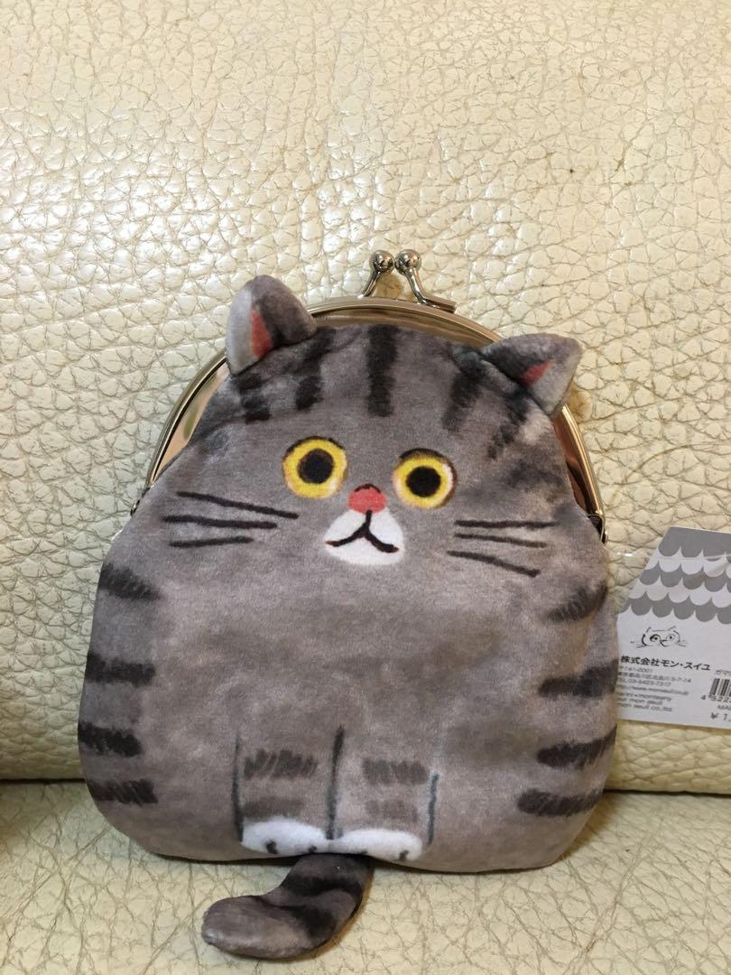 Ecoute!minette coins bag