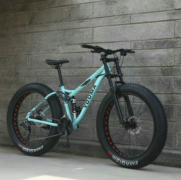 Full Suspension Fat Tire Mountain Bike Down Bike D B on 10 Inch Mini Bike S