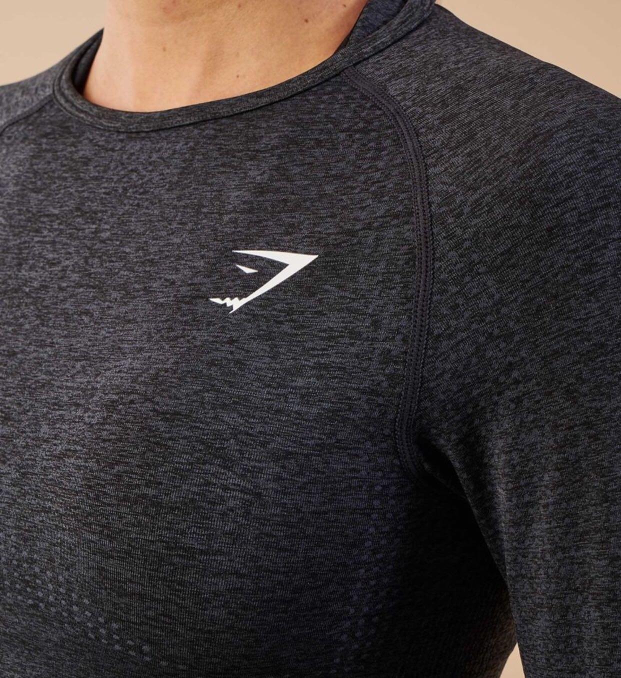 f882abedee5fd Gymshark Vital Seamless Long Sleeves Tee-Shirt