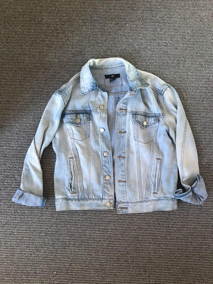 H&M LIGHT BLUE DENIM JACKET