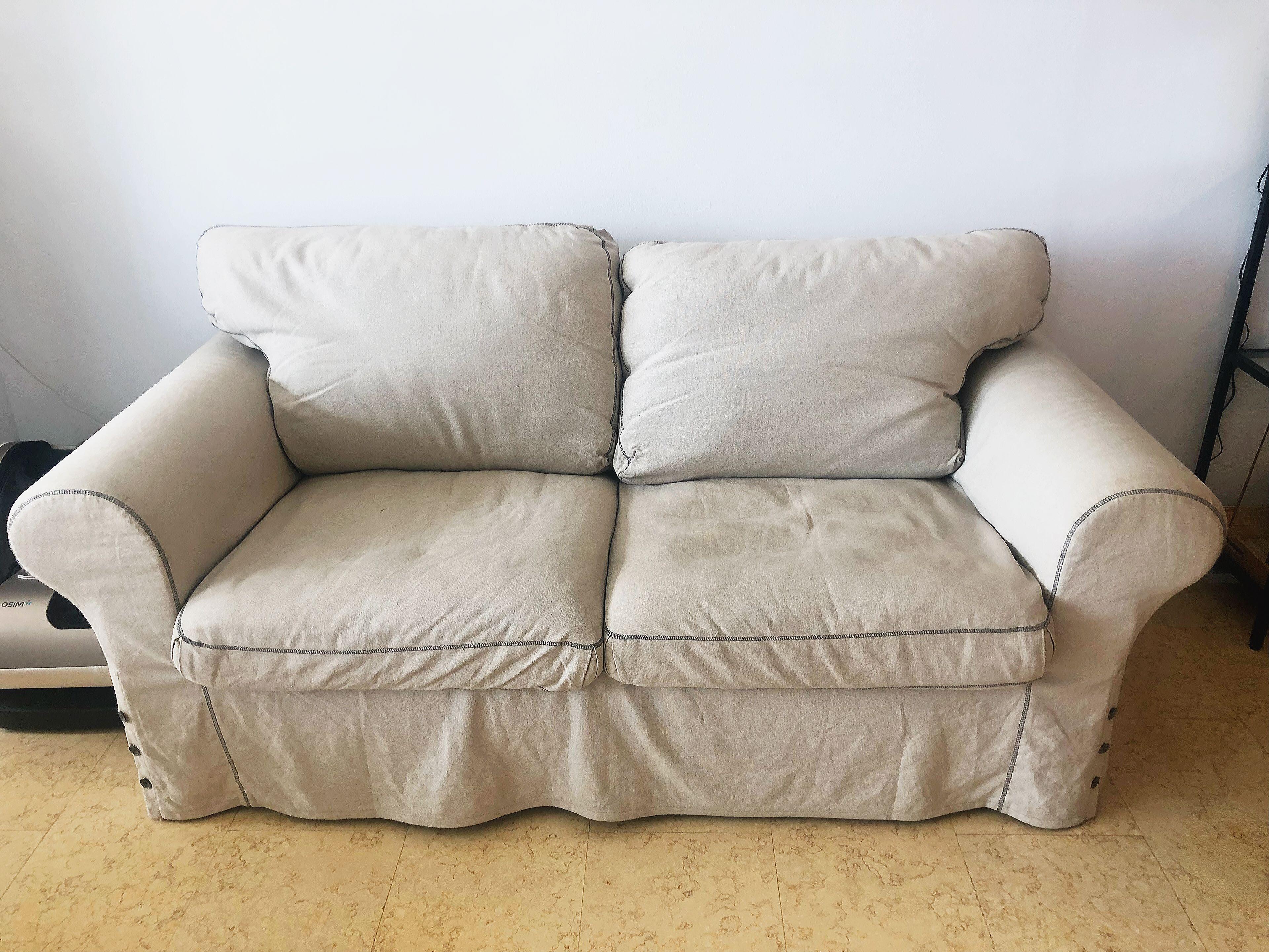Ikea Ektorp 2 Seater Sofa With 2 Extra Set Of Covers Furniture
