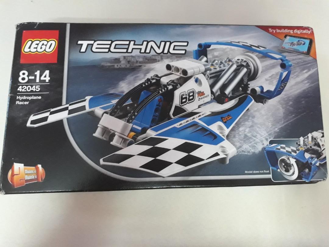 Lego Technic Hydroplane Racer 42045 Mainan Game Alat Mainan