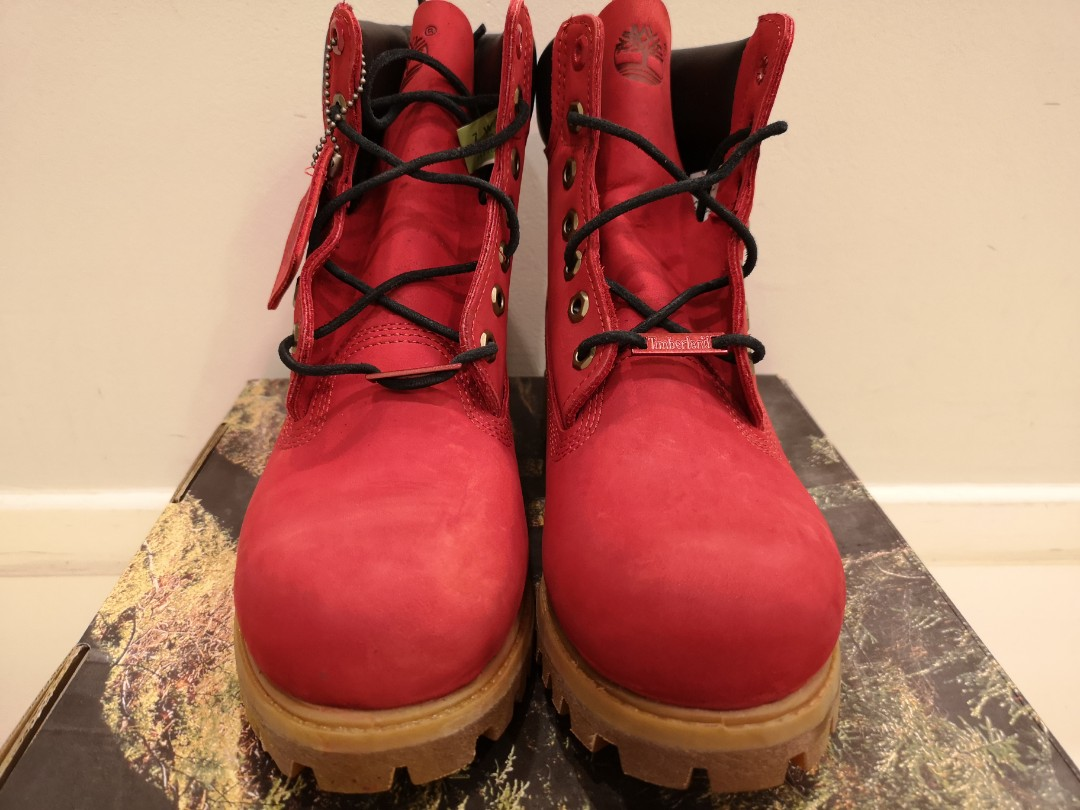 233209db13b Limited Edition Ruby Red Men's Timberland Waterproof Boot