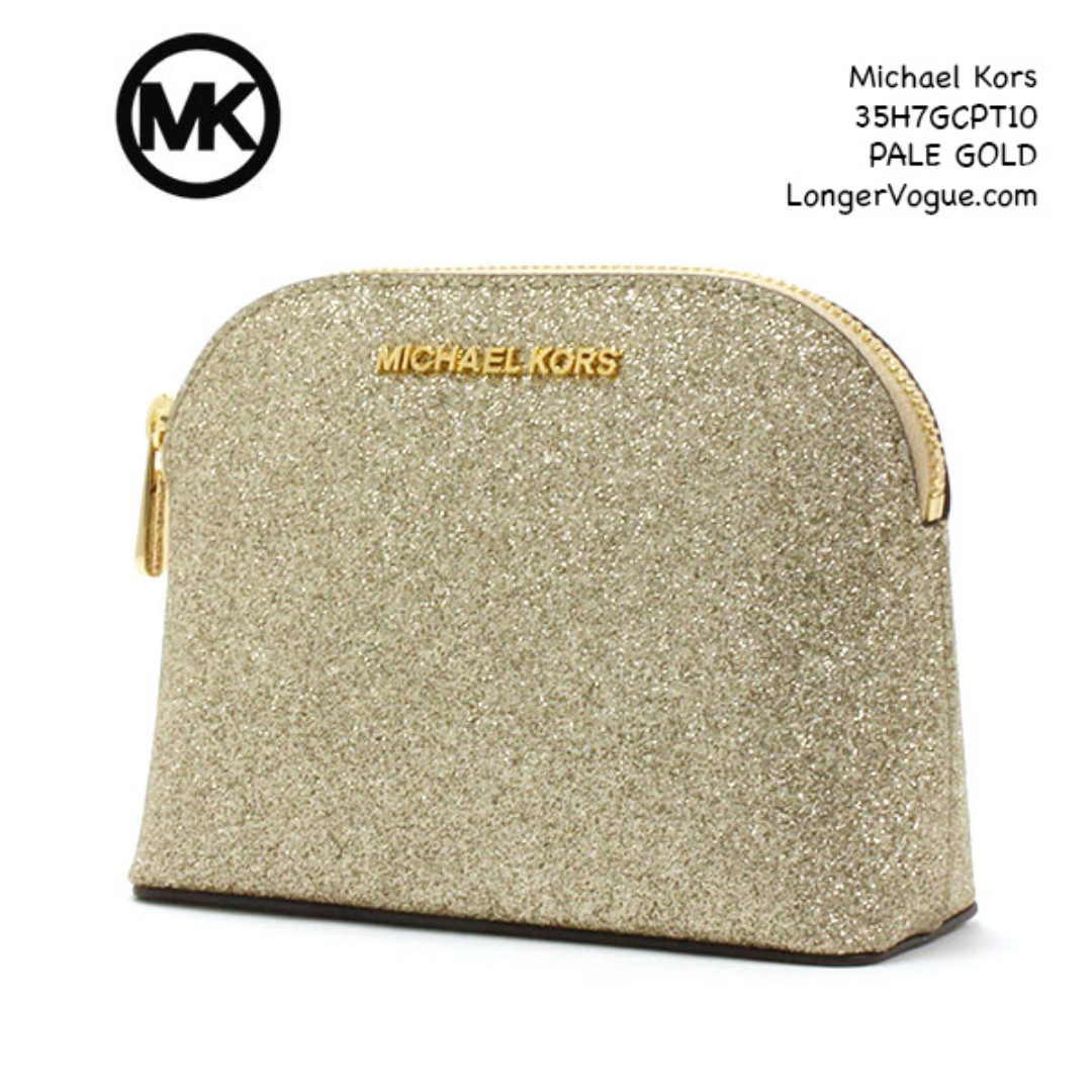 6ed0e27d5e82a6 Michael Kors Cosmetic Bag, Luxury, Bags & Wallets, Clutches on Carousell