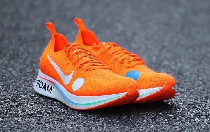 2c4473a6f790 Off-White Nike Zoom Fly Mercurial Orange, Men's Fashion, Footwear ...
