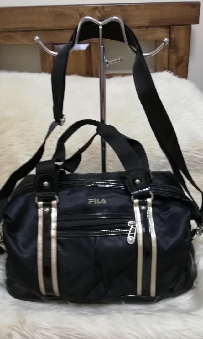 🎀ORIGINAL FILA DUFFLE BAG WITH SLING 489f9bc8024e5