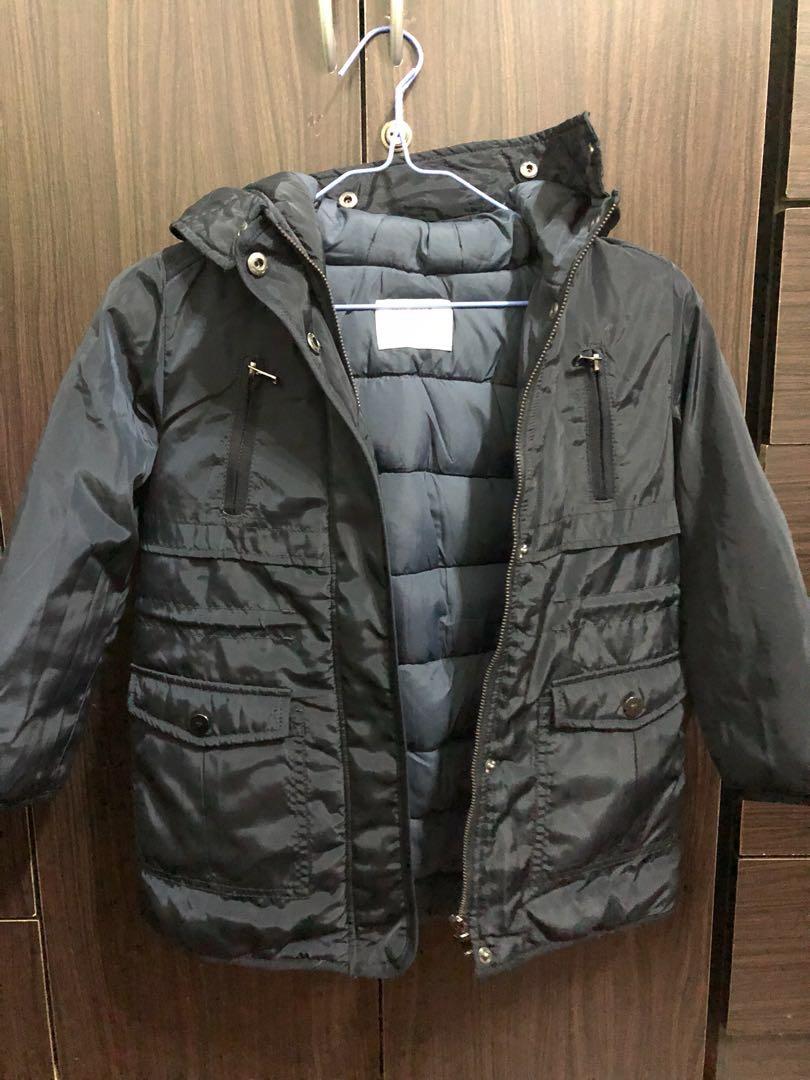 64c634b18 Original Zara kids (5-6 yrs old) winter jacket, Babies & Kids, Girls ...