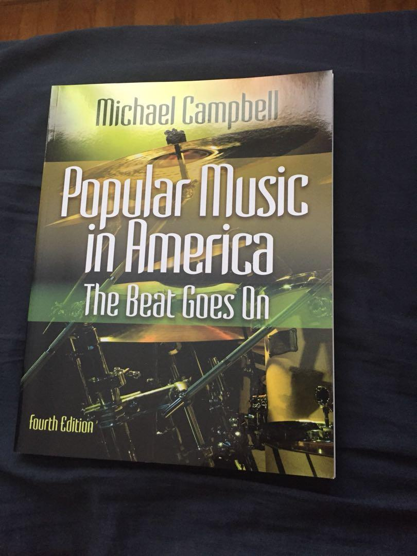 Popular music in America The beat goes on 4th edition