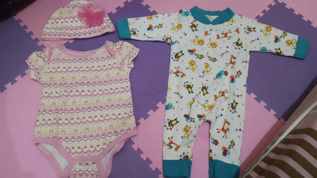 Preloved baju bayi usia 0-6bln