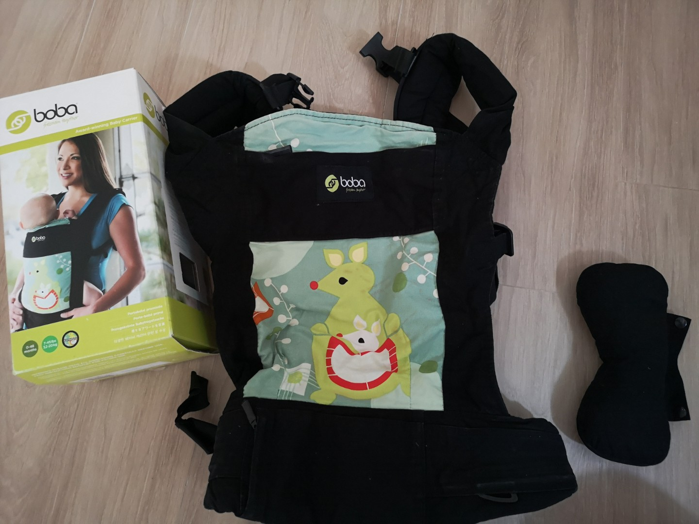 Preloved Boba Carrier With Infant Insert