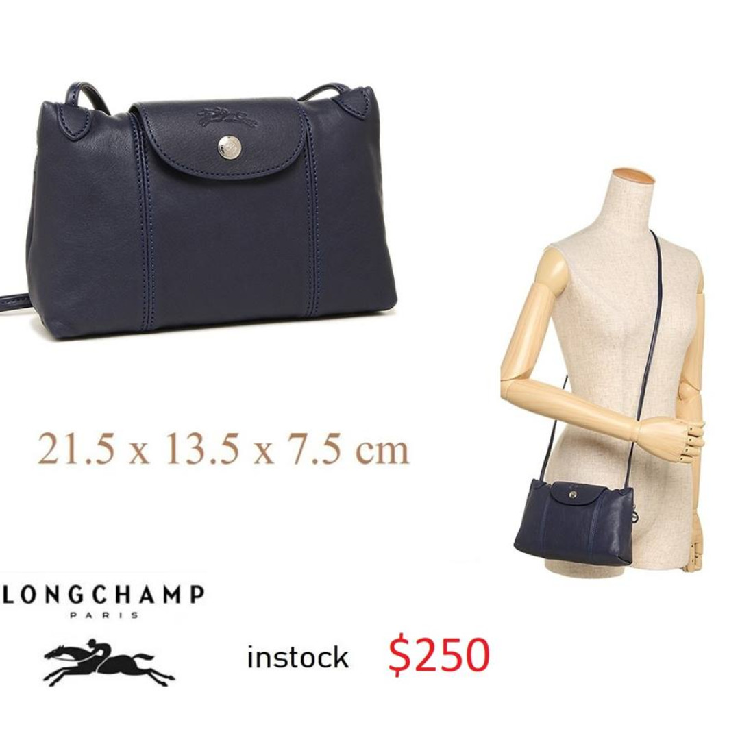 063b7aa64a6f7 READY STOCK authentic new LONGCHAMP LE PLIAGE CUIR CROSS BODY ...
