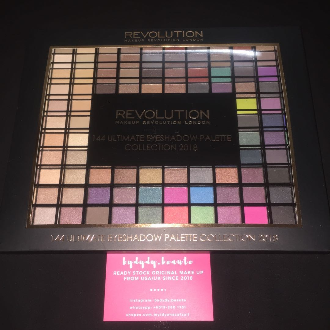 ... Makeup Revolution 144 Palette 2018 Makeup Daily
