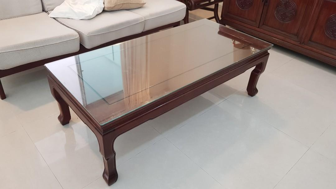 Rosewood Coffee Table Furniture Tables Chairs On Carousell