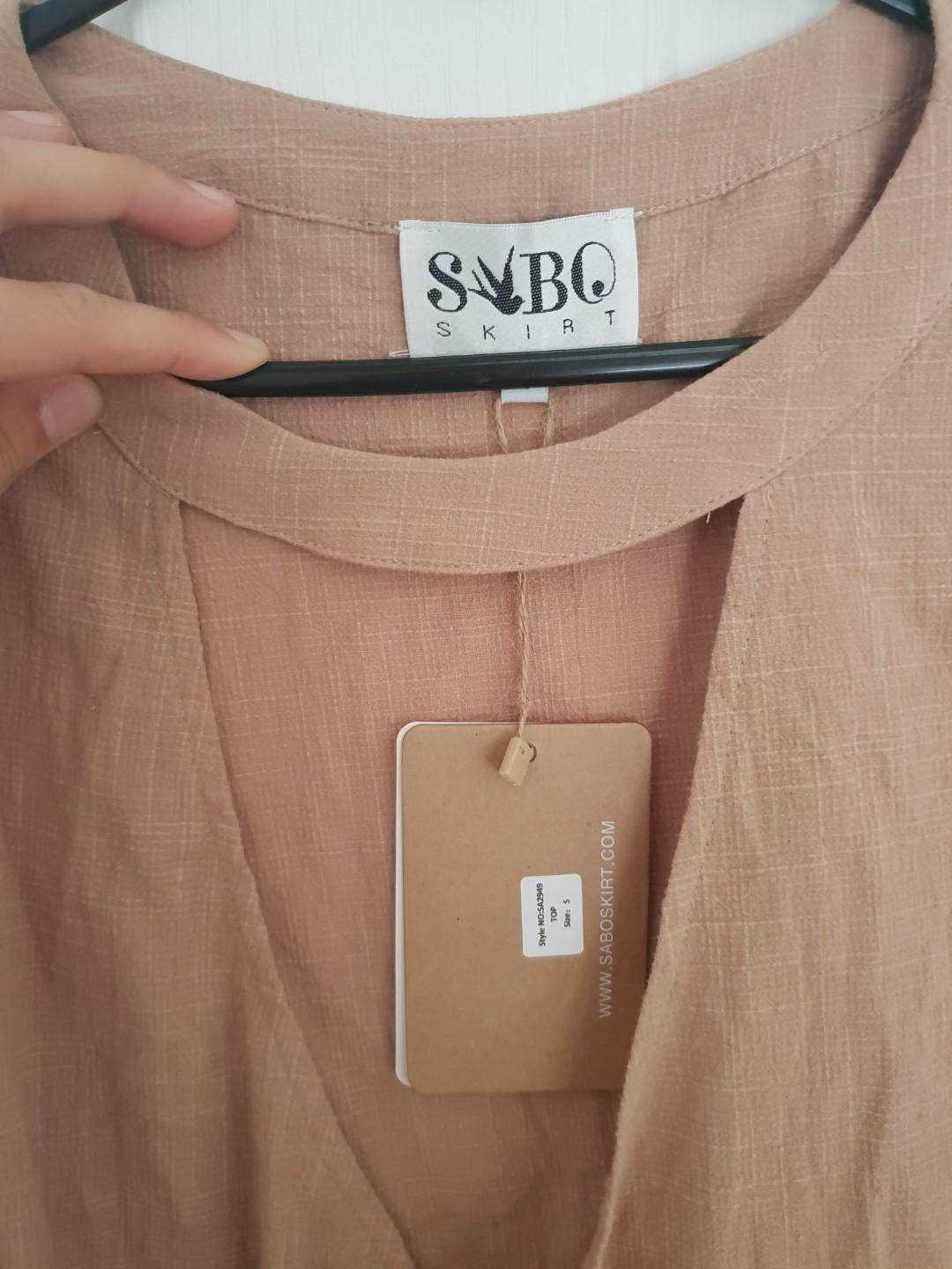 Sabo Skirt tan tshirt