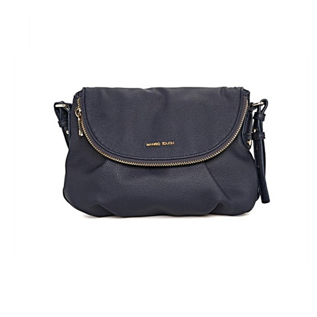 1e4ed516de0 💥SALE💥MANGO TOUCH Instock (Navy Blue Pebble) Double Compartment ...
