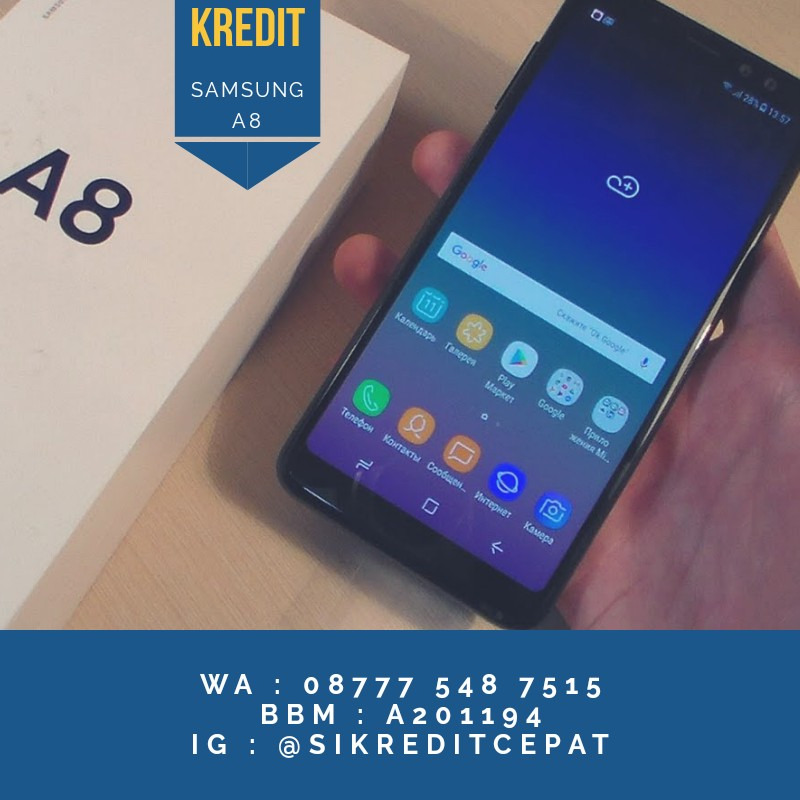 Samsung A8 2018 Garansi Resmi Telepon Seluler Tablet Ponsel Android Di Carousell