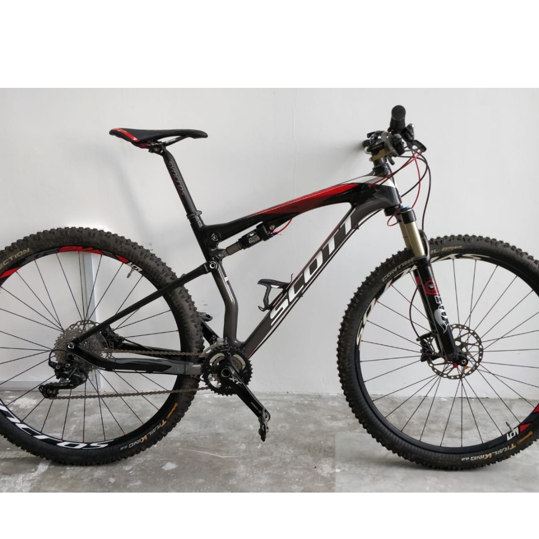 5629a028b0c Scott Spark 910 Carbon 29er Full XT - ridden less than 5 times near new,  Bicycles & PMDs, Bicycles, Mountain Bikes on Carousell