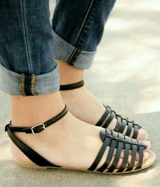 Sepatu sandal tali sintetis 6d4e5d0a76