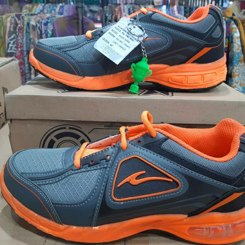 Pro Att Agr 3003 Sepatu Olahraga Warna Abu Orange - Theme Park Pro ... 5cacb84d84