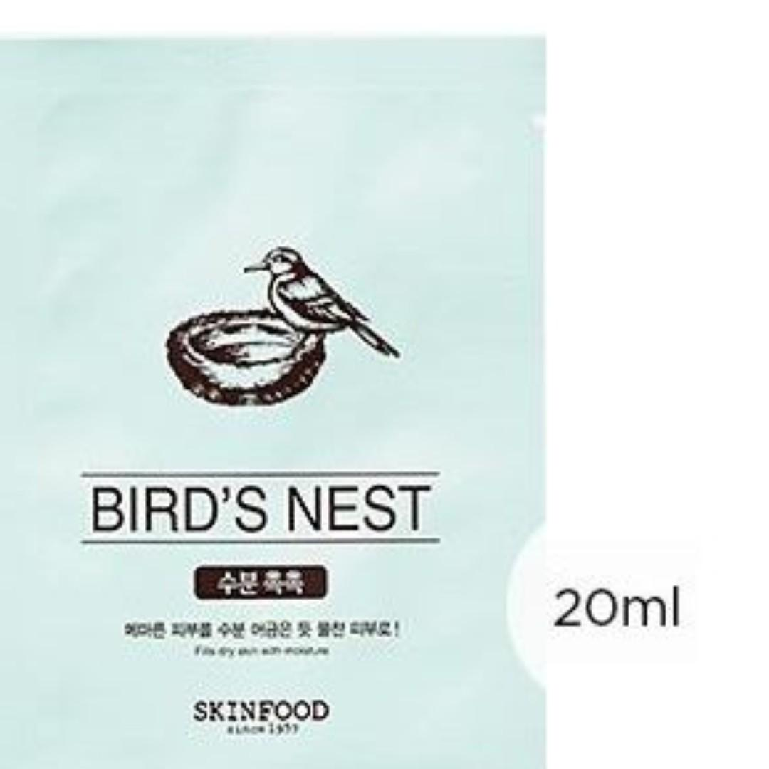 Skinfood Sheet masks - choice of Aloe, Birds Nest, OR Coconut