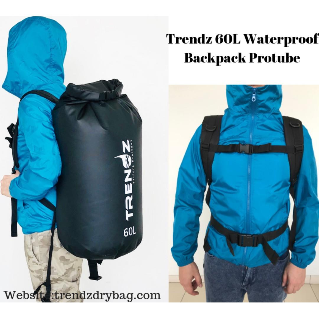 7d088c8312 Trendz 60L Waterproof Backpack Protube
