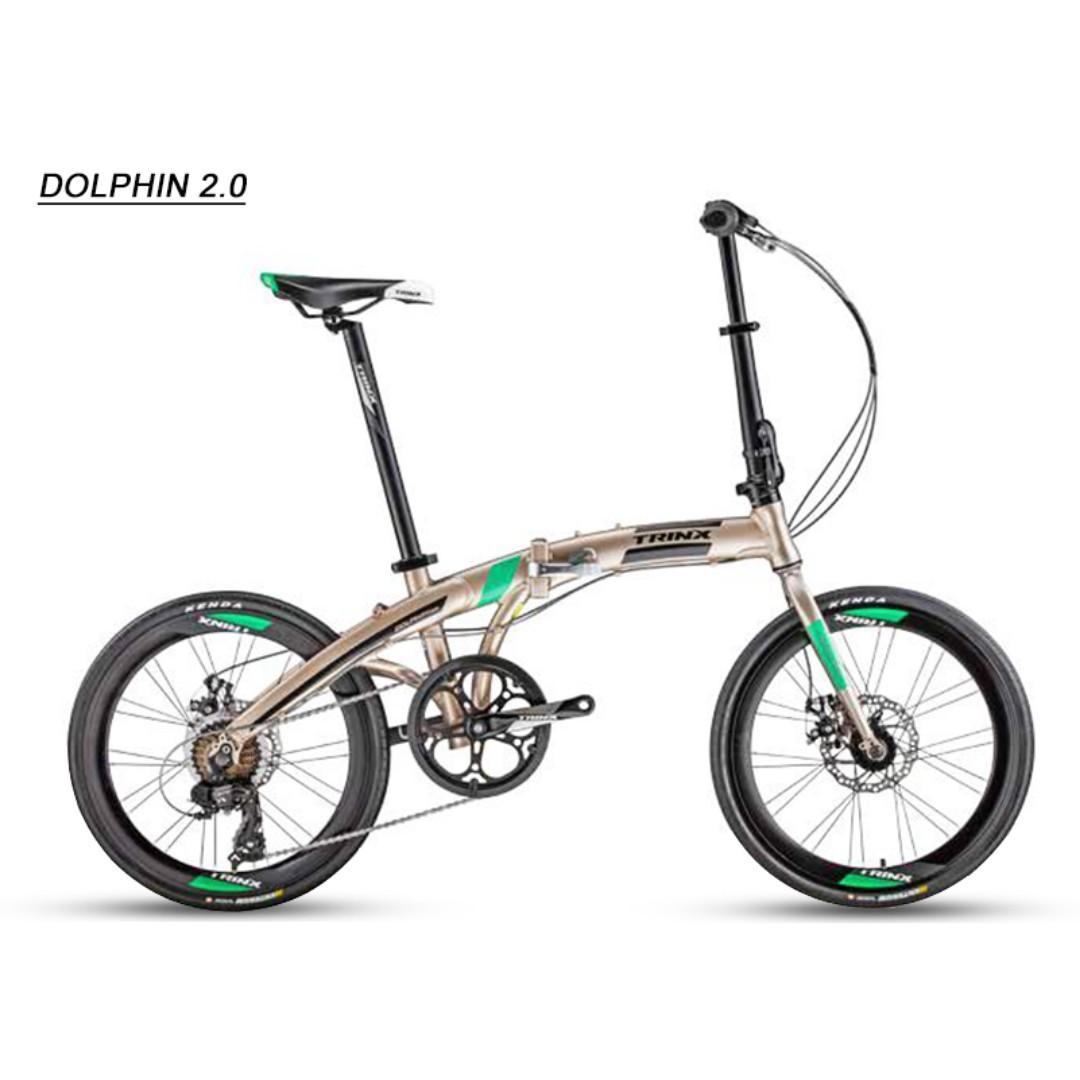 Trinx Dolphin 2 0 Folding Bike Sports Bicycles On Carousell