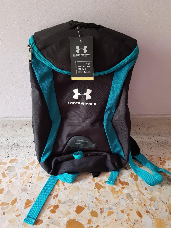 282e26135e [UNDER ARMOUR] Black Backpack