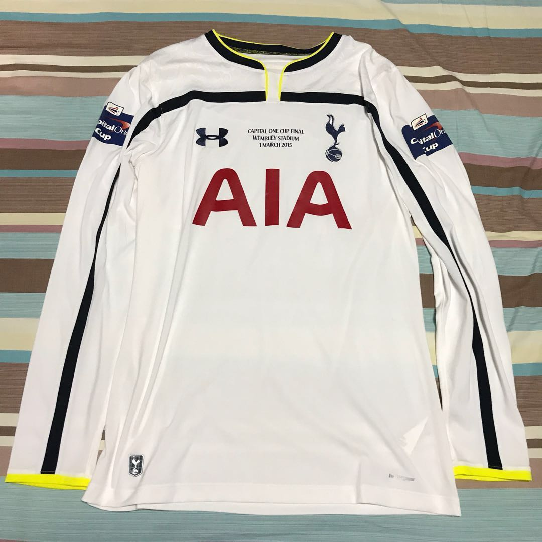 UNDER ARMOUR Tottenham Hotspur 14 15 Home jersey (Capital One Cup ... eabbc7665