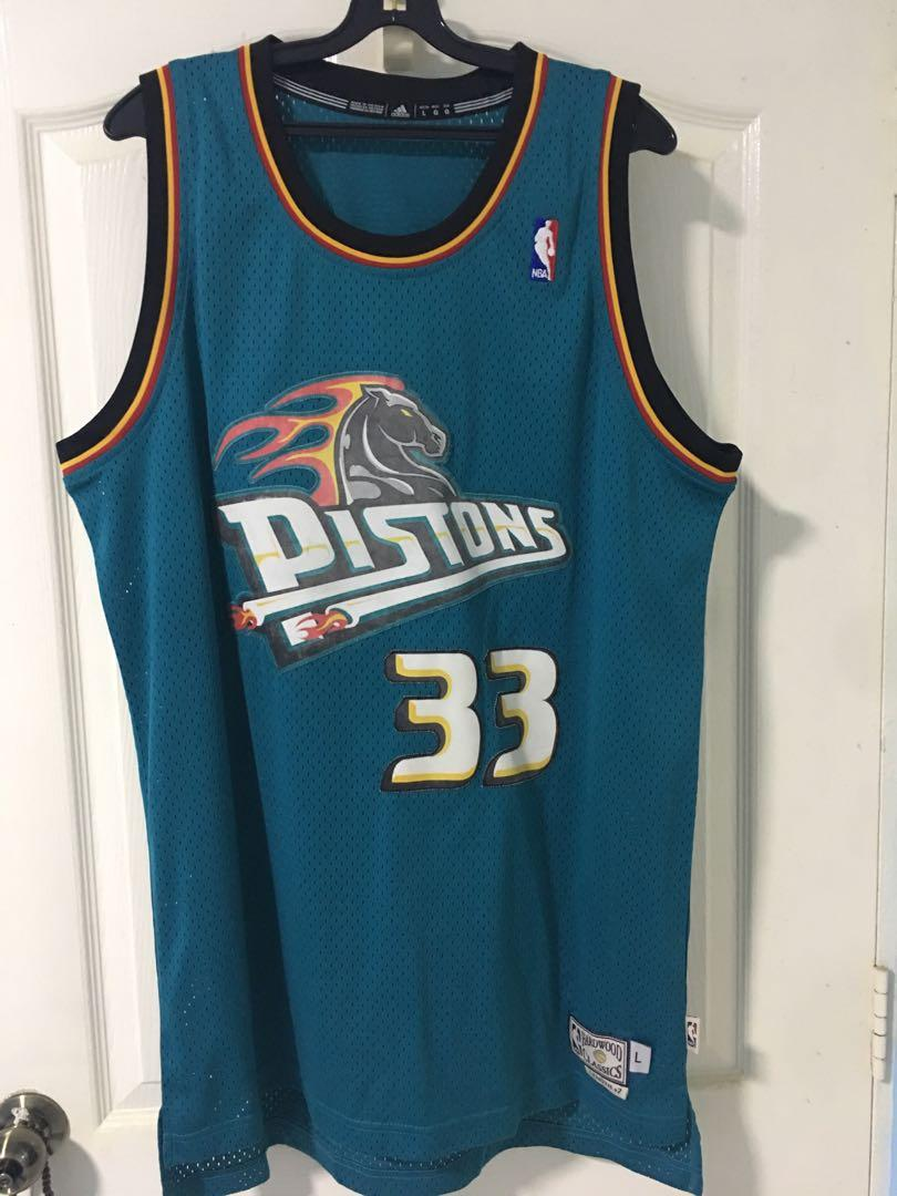 newest fa542 eac84 Used / NBA Hardwood Classic Jersey Grant Hill Pistons 33 ...