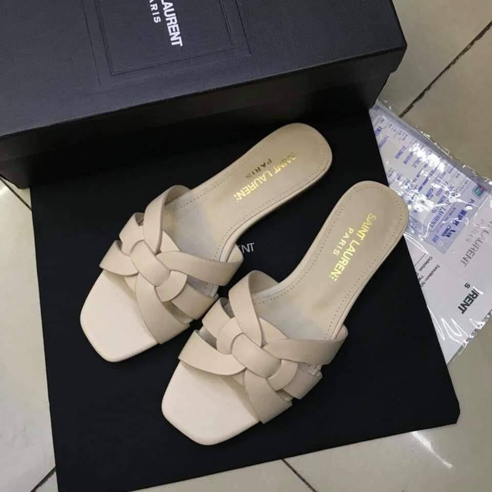 20ed9982c6f3 YSL Tribute Flat Sandal 10mm