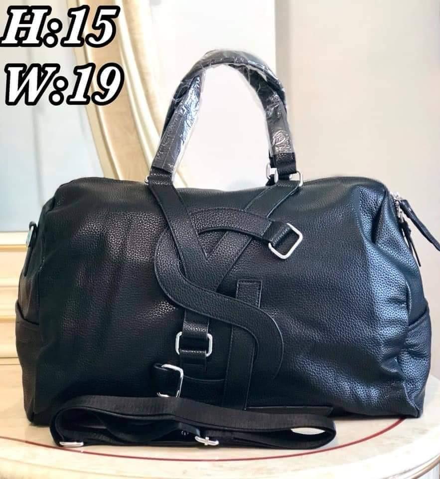 30ac0caa9c0c YSL Vavin Duffle Bag