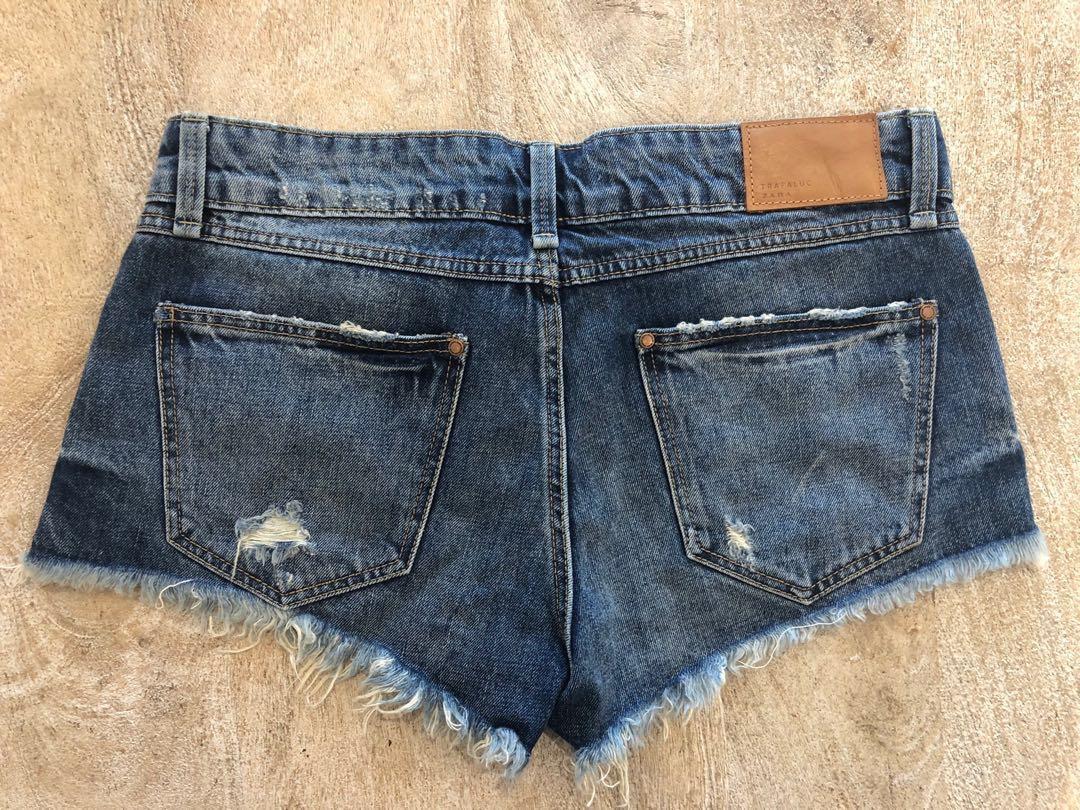 Zara denim shorts