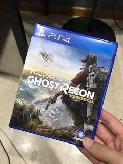 PS4 Game Ghost Recon Wildlands