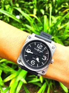 { SOLD } Bell and Ross 03-92