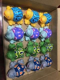 小朋友沖涼玩具 噴水龜