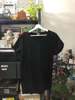 H&M wide neck shirt
